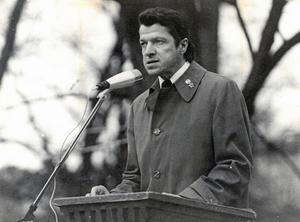 Bild från 1977, tagen under ett förstamajtal.  Foto: NA arkiv