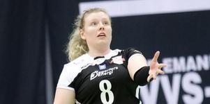 Sofie Fahlin i Degerfors-tröjan år 2017.