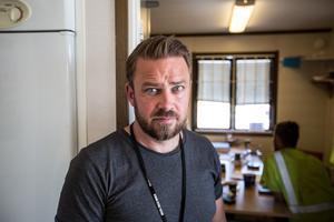 Kim Söderström, ordförande Byggnads GävleDala.
