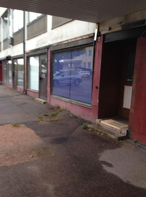 Hotell Skinnargården i Malung förfaller. Foto: Claes Ahlén