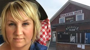 Stina Philström som startade insamlingen för att rädda Härdalsyran. Fotomontage: Privat/Karin Johansson.