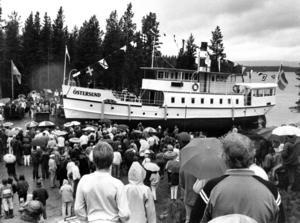 1986 kom hundratals människor till Arvesund för att se