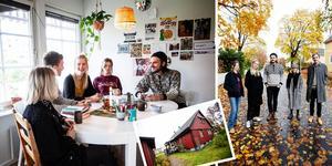 Östersund, Eskilstuna, Falun, Södertälje, Sundsvall och Vallentuna. Härnösands nyaste musikkollektiv består av sex personer från en mix av städer och tillsammans skapar de bandet Villa Nio.  Vi har besökt dem i villan för att ta reda på mer om dessa nya Härnösandsbor.