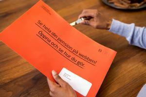 Premiepensionen är en liten men viktig del av den totala pensionen.Bild: Magnus Glans/PPM