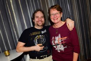 Micael Sjödin och Karin Nordin från Trolldansarna dansade på Casino Cosmopol.