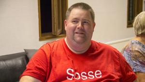Roger Ingvarsson var på plats för gemenskapen.