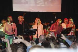 Såhär såg det ut när bandet spelade på Old Bell 2013. Foto: Mathias Sandqvist/NP Arkiv