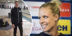 Erika Kinsey slog till med 1,92 i sin första höjdhoppstävling för året. Foto: Instagram/TT