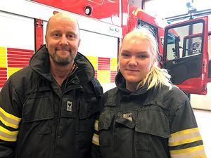 Nu söker vi fler brandmän till de sex stationerna i Krokoms kommun. Foto: Räddningstjänsten Jämtland