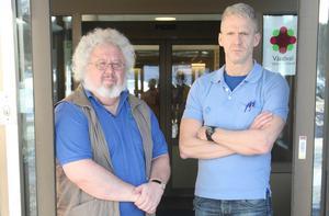 Bo Abrahamsson, verksamhetschef, samt Mårten Svensson, specialistläkare i allmänmedicin, arbetar båda på nystartade och medlemsägda Vårdcentral Sollefteå Centrum, som på bara några månader fått 7 466 listade patienter.