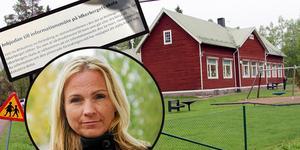 Vårdnadshavare vid Idkerbergets skola är oroliga för att skolan ska läggas ned.