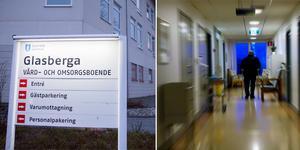 Montge. Foto: Monika Nilsson Lysell / LT, Hasse Nilsson, TT. Bilden från korridoren är en genrebild och är inte Glasberga vård och omsorgsboende.