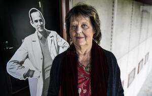 Anita Haglöf berättar om den tid då hon arbetade för Ingmar Bergman. Foto: Anders Wiklund / TT