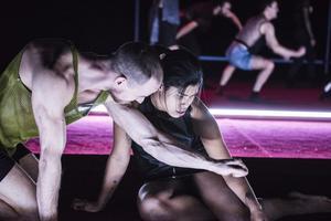Protagonist av Jefta van Dinther. Dansare: Adam Schütt och Suelem de Oliveira da Silva, Foto: Urban Jörén.