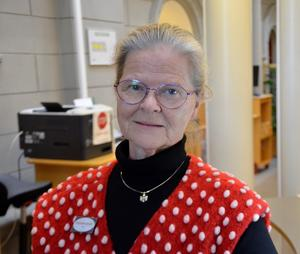 Åsa Granath, 62 år, bibliotekarie, Sundsvall.