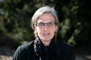 Marie Olsson (S) från Orsa lämnar riksdagen.