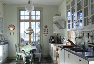 Köket i Engelska villan i Bodsjöedet.