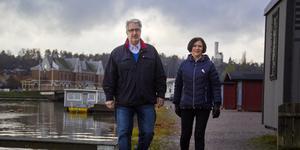 Bengt Thyrsson och Inger Engvers tycker att det är rolig att engagera sig i SPF Seniorerna 010 Söderhamn.
