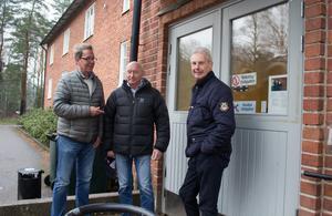 Per Nerving, Lennart Nordqvist och Tomas Nilson gjorde lumpen på Lv 3 för 50 år sedan.