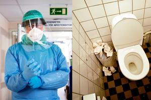 Koll på toa-hygienen? Hur stora smittospridare är de omdebatterade handtorkarna? Hör vad smittskyddsläkaren ha att säga...Foto: Arkiv/montage