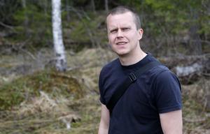 Tobias Eliasson är skogskonsulent på Skogsstyrelsen och har varit med och arrangerat utbildningsdagen.