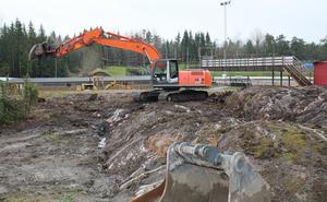 Ombyggnaden av depån i HZ Bygg Arena I Hallstavik är redan inledd.