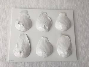 Förutom skulpturerna har Carina även gjort brösttavlor.