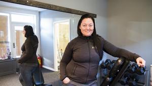 Sara Allestad startar en ny pt-studio i Hudiksvall.