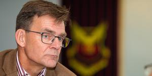 Enligt ÖFK:s vd, Lennart Ivarsson, är det ekonomiska läget fortsatt ansträngt. Bild: Johan Axelsson/Bildbyrån.