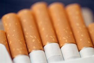 Männen hade cirka 1,6 miljoner cigaretter i sin last.