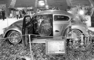 En VW-55 med bland annat höj- och sänkbar fjädring och en mängd andra finesser gav Bernt Carlsson, Jönköping, priset