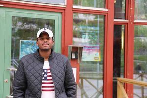 Shamsodin Abdi Kamal hoppas kunna vara en bra förebild för de barn och ungdomar han kommer jobba med under sommaren.