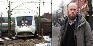 Underhåll och satsningar på Dalabanan hotas av regeringens planer på höghastighetståg mellan Stockholm, Göteborg och Malmö - menar Moderaterna