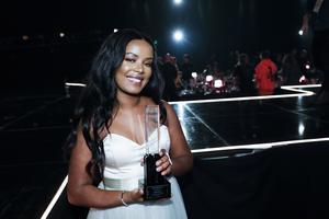 Rapparen Imenella blev årets nykomling på Grammisgalan i februari. Hon var även nominerad i kategorin årets hiphop.