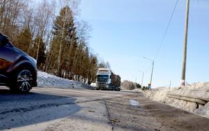 Sträckan mellan Nacksta och Blåberget är rejält olycksdrabbad.