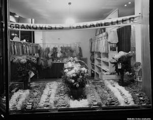 1945. Granqvists karameller på Nygatan 17. Foto: Eric Sjöqvist, Örebro. (Bildkälla: Örebro stadsarkiv)