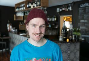 Robin Jobs, Jobs bodega, har utsetts till årets unga företagare i Leksand.