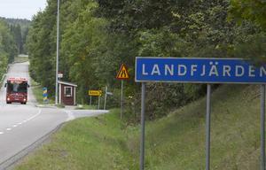 Landfjärden.