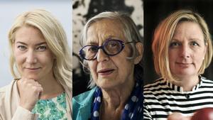 Tre exempel på förebilder: Elin Olofsson, Rosa Taikon och Fia Gulliksson.