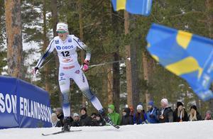 På väg mot  snabbaste kvaltid i prologen i Falun och en ny pallplats i världscupen i sprint.