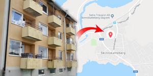 Klockarbergsvägen 8 i Skinnskatteberg är på god väg att säljas men nu vill Socialdemokraterna göra ett försök att göra om lägenheterna till ett trygghetsboende.