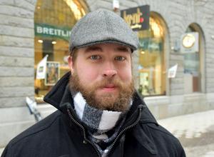 Claes Angelwind, 31 år, lastbilschaufför, Sundsvall: