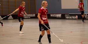 Linnéa Berggren blev tremålsskytt för Per-Ols i lördagens match mot Pålsboda. Foto: Arkiv