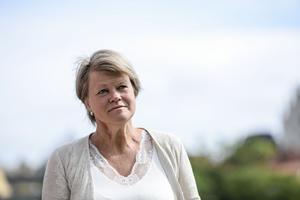 Ulla Andersson, en arbetshäst. Foto: Henrik Montgomery / TT /