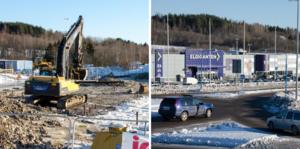 Bygget av nya Dollarstore i Birsta har börjat. Nu står det klart att byggföretaget Fastec fått uppdraget värt 35 miljoner kronor.