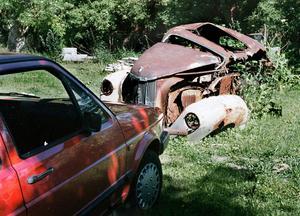 Bortrostande och övergiven, är det bilens brutala öde?