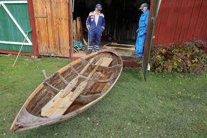 Många Långåbor har under åren använt den här båten som byggdes 1853