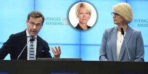 Ulf Kristersson, Saila Quicklund och Elisabeth Svantesson.