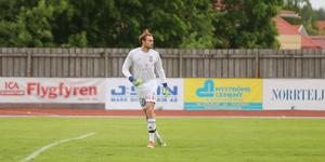 BKV Norrtäljes Linus Dahlgren utsågs till matchens lirare.