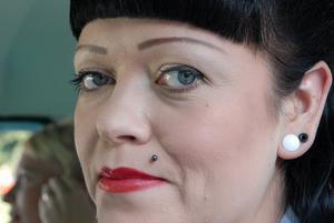 Den här sköna damen deltog i årets Damrally
